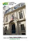 Plaquette Académique Agriculture de France