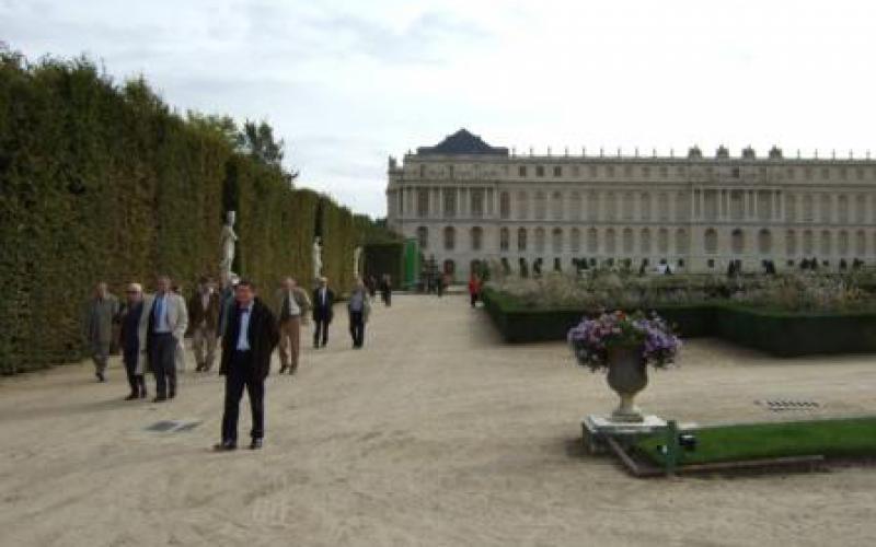 Visite des jardins de versailles et du ch teau acad mie for Visite jardin versailles