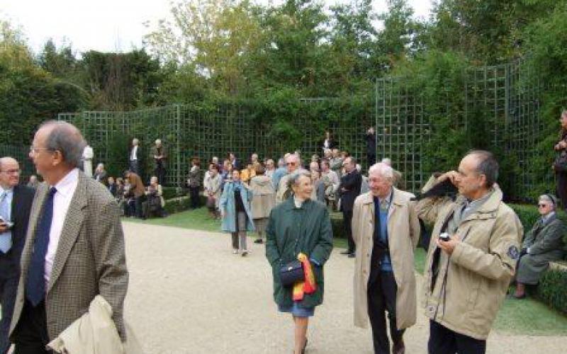 Visite des jardins de versailles et du ch teau acad mie for Visite de jardins en france